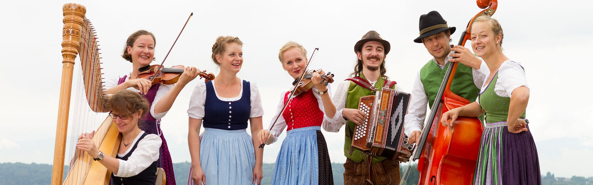 Kobenzer Streich - Alpenländische Volksmusik mit Geigen und Gesang